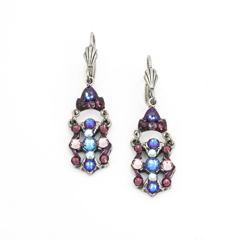 Crystal Filigree Earrings