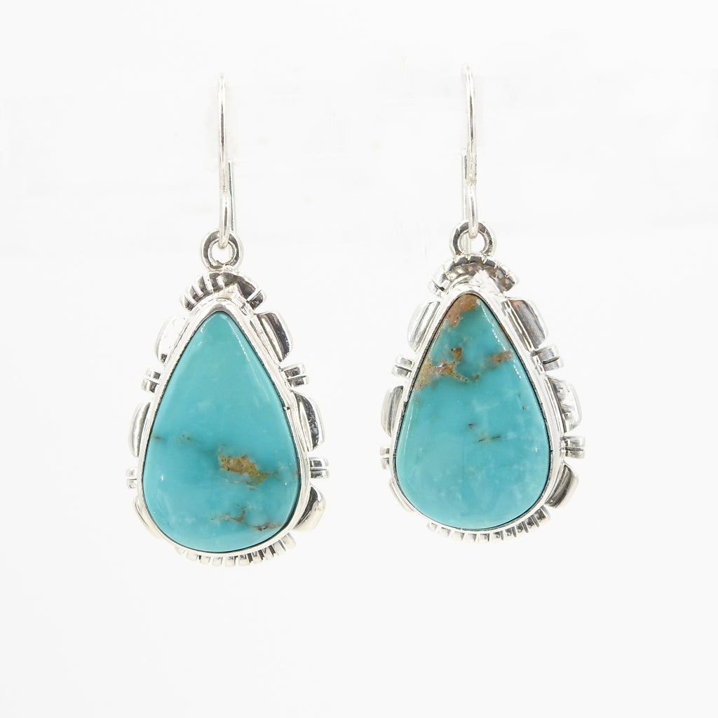 S/S Navajo Turquoise Earring