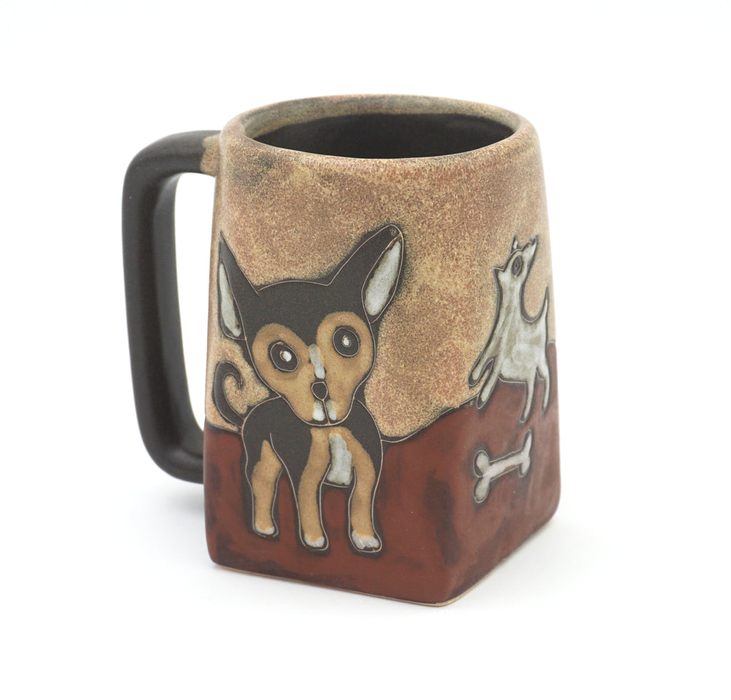 Puppies Stoneware Mug