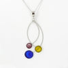 Stainless Steel Resin Necklace