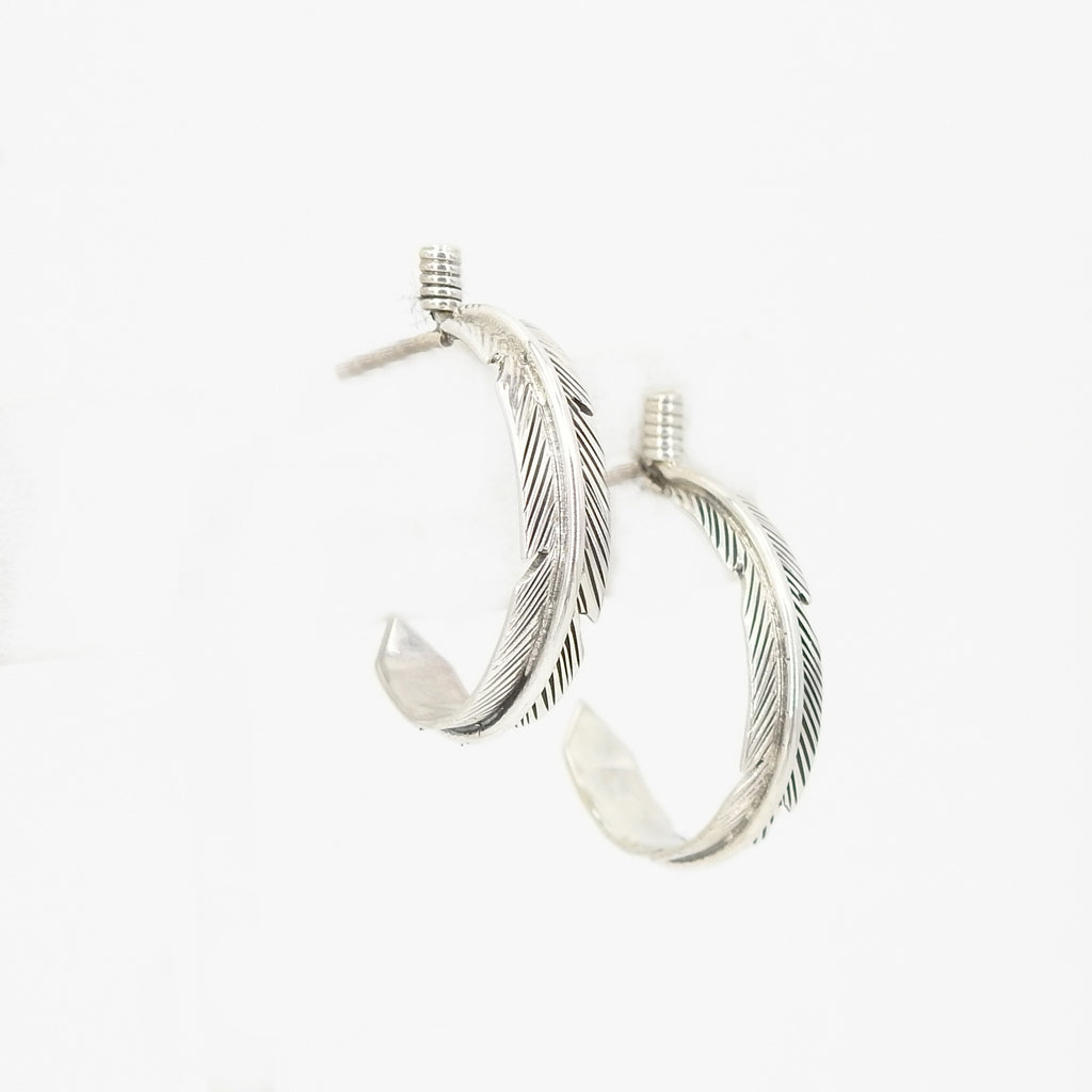 S/S Feather Earring