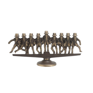Dancing Rabbis Menorah