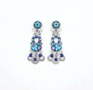 Deep Bloom Vibe Color Earrings