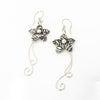 S/S Flower Earring W Stem
