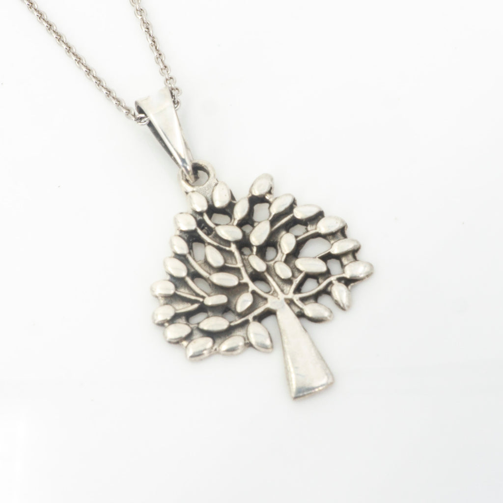 S/S Tree of Life Pendant