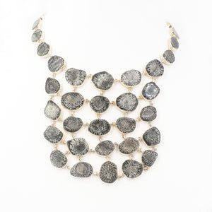 S/S Stingray Coral Necklace