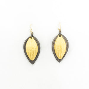 Piper Double Leaf Earring