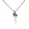 Raw Quartz Crystal Pendant