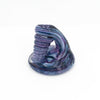 Pen Holder Purple Swirl