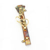 Mezuzah Hearts Copper & Brass