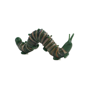 Art Glass Caterpillar