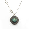 S/S Labradorite Crystal Locket
