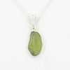 S/S Rough Peridot Pendant