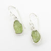 S/S Rough Peridot Earring
