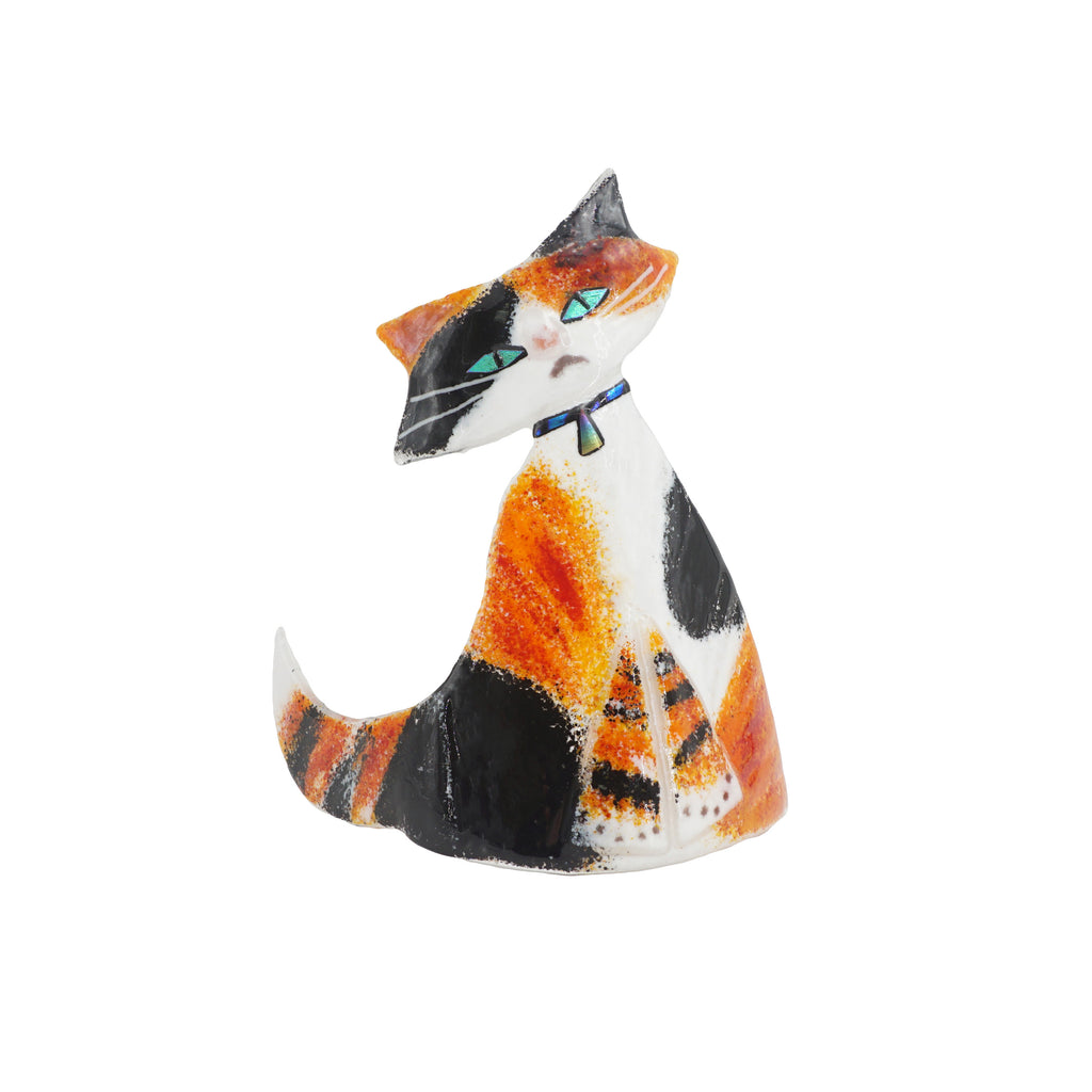 Orange, Black & White Cat
