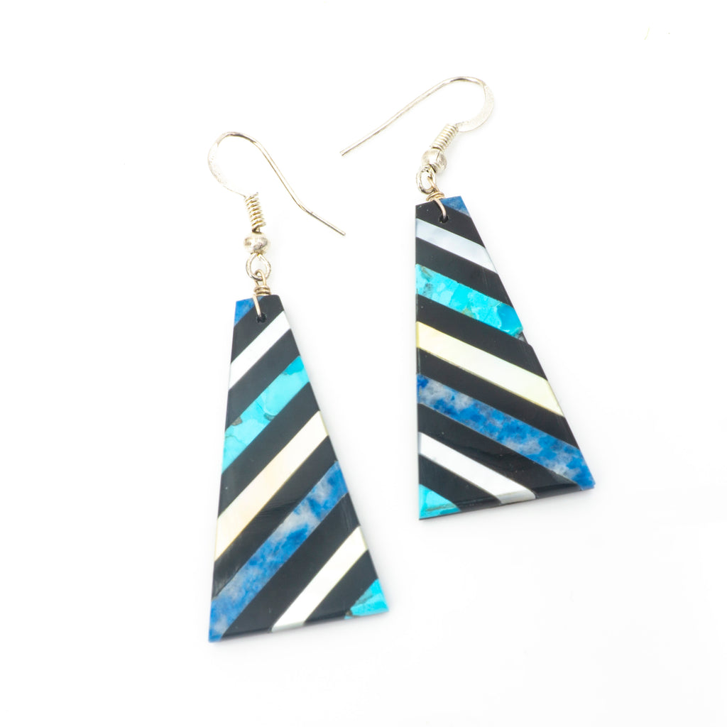 S/S Inlay Earrings