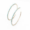 S/S Sleeping Beauty Hoop Earrings