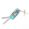 Turquoise Inlay Multi Money Clip