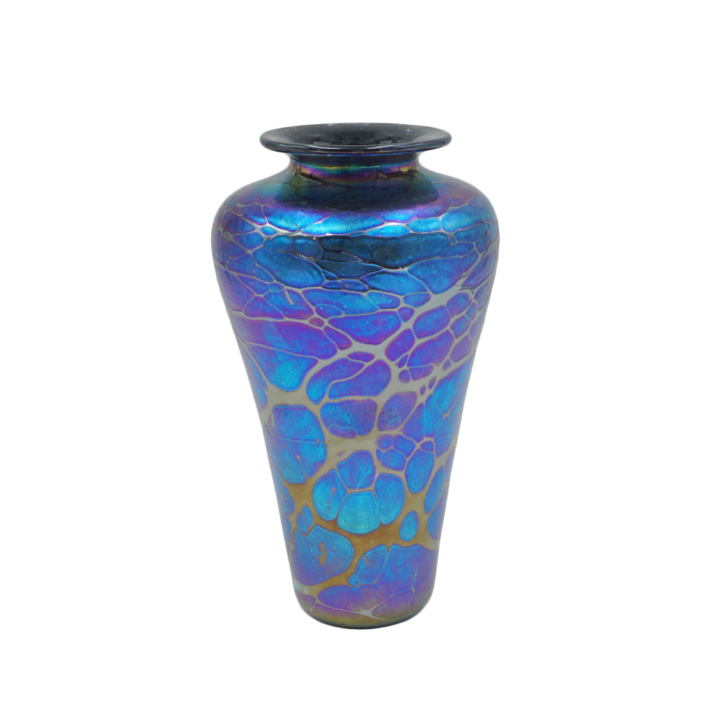 Iridescent High Shoulder Vase