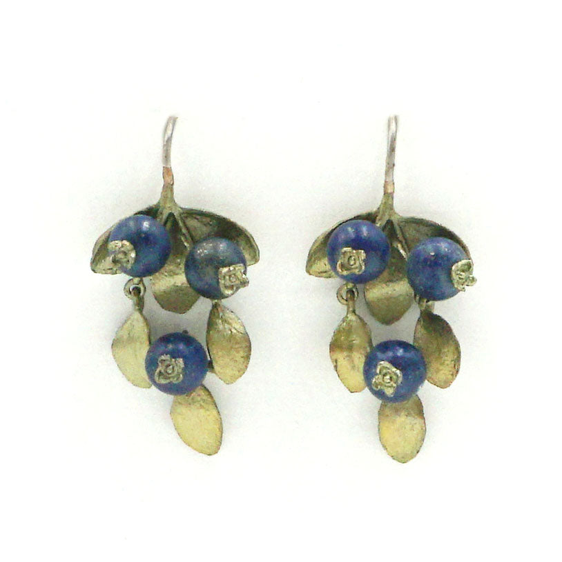Bronze Blueberry Earrings