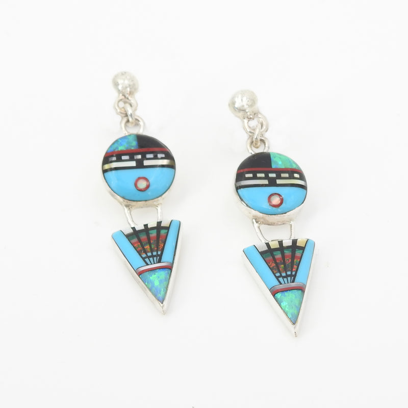 S/S Inlay Earring