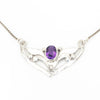 S/S Amethyst Necklace