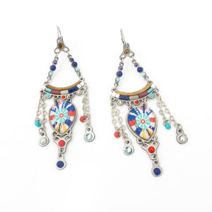 Folk Chic Color Earring