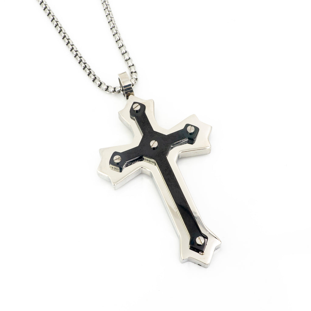 Cross Stainless Steel Pendant