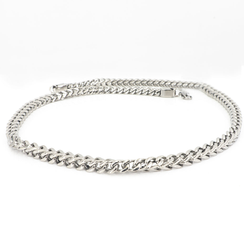 "22"" 6MM Stainless Steel Chain"