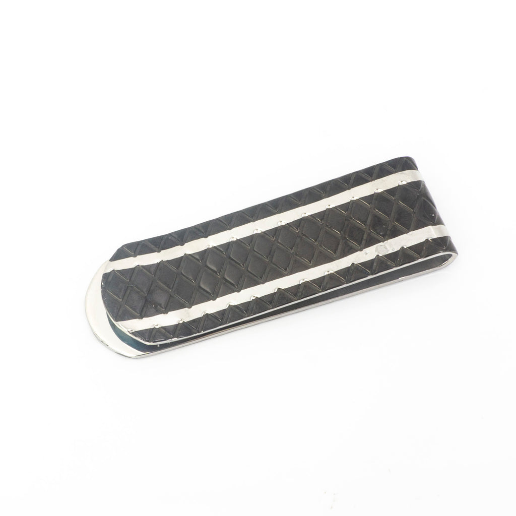 BLK N Stainless Steel Money Clip