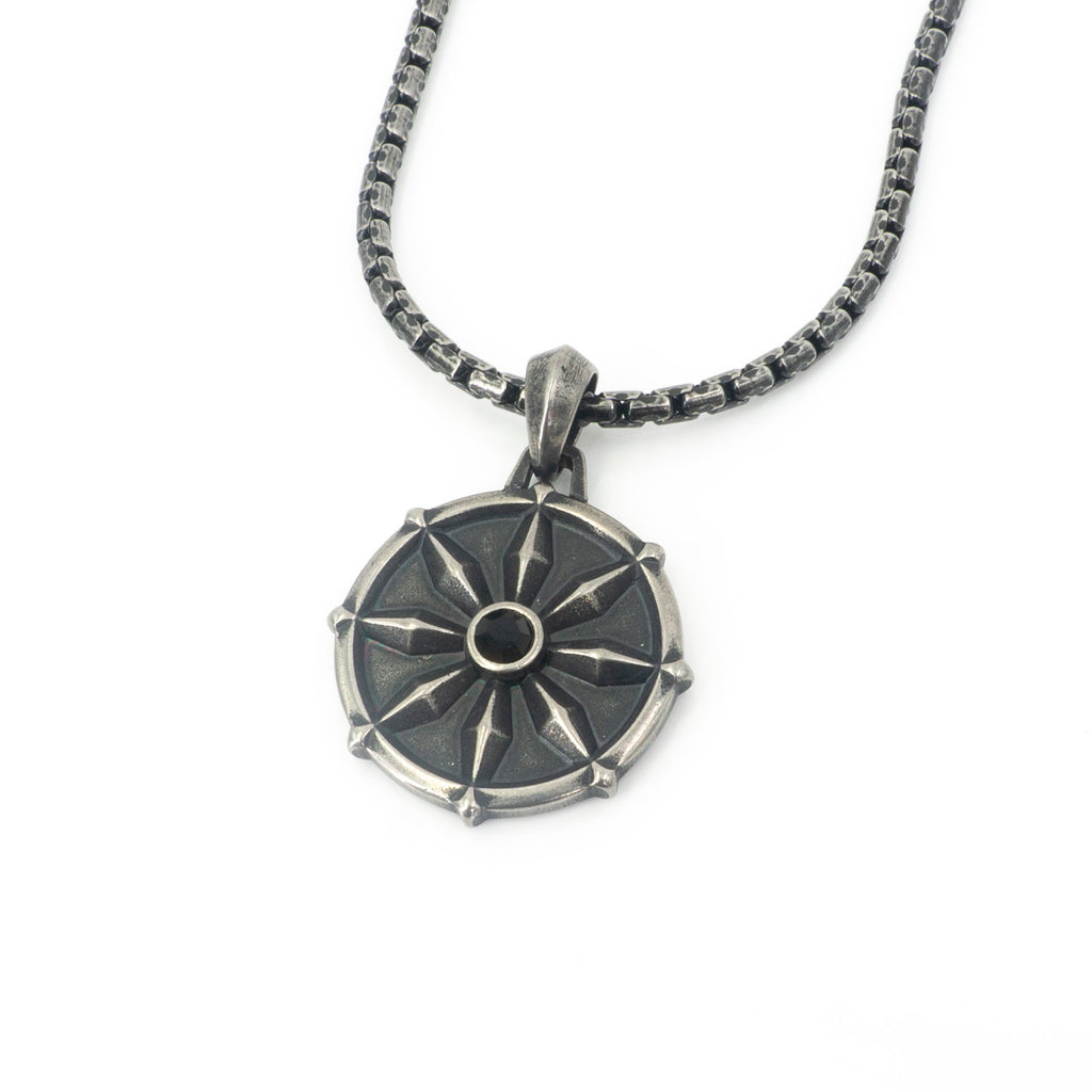 Compass Stainless Steel Pendant