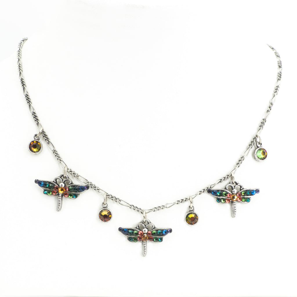 3 Wide Dragonfly Necklace