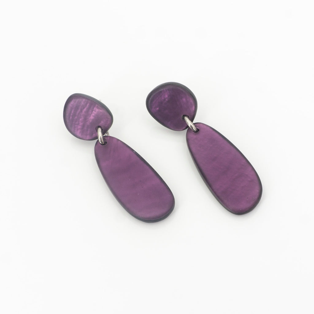 Bright Violet Earring