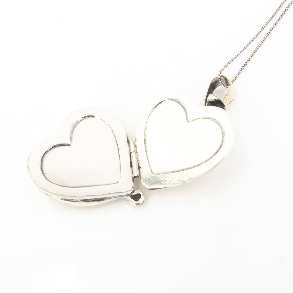 S/S Heart Locket Pendant