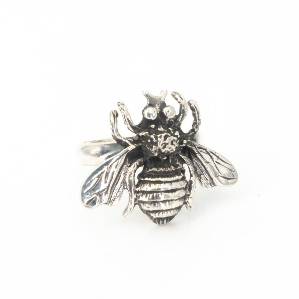S/S Bee Ring Adjustable