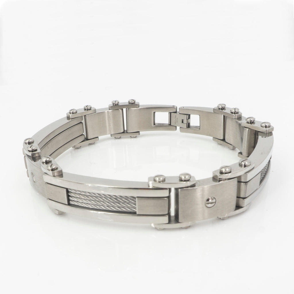 Stainless Steel Mens Bracelet