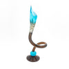 Mini Jack 'N Pulpit Glass Candle Stick