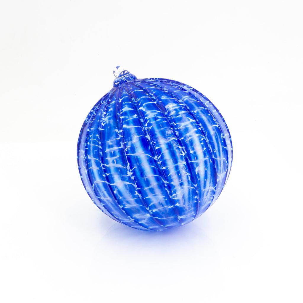 Ornament Blue White