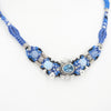 Isha Elafi Blue Topaz & Opal Nomadic Knot Work Necklace