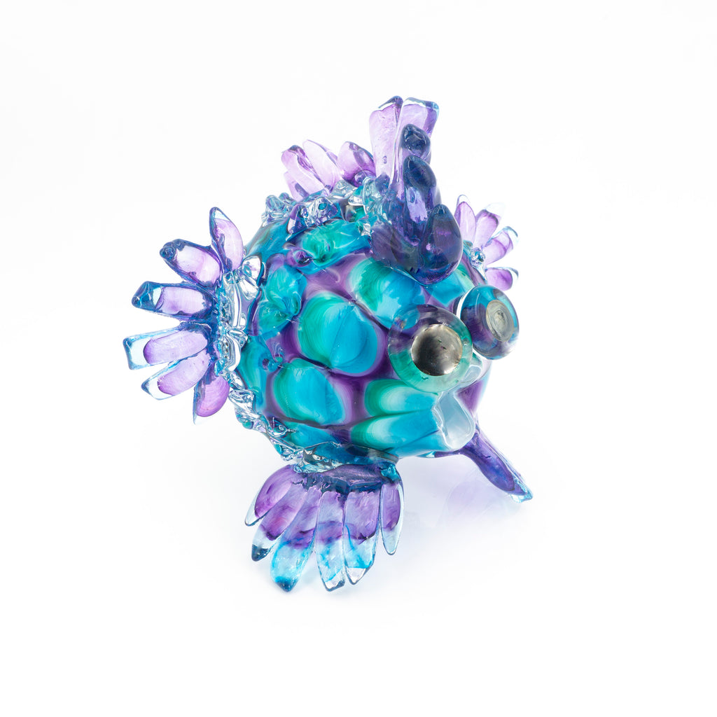 Art Glass Puffer Fish