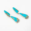 S/S Navajo Turquoise Earrings