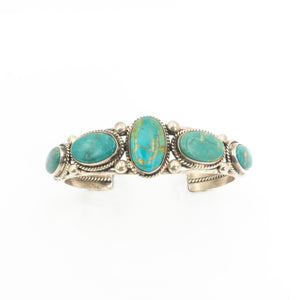 S/S 5 Roystone Turquoise Cuff