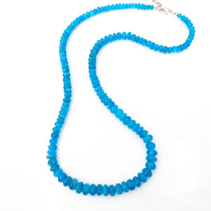 S/S Blue Apatite Necklace