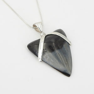 Sterling Silver Shark Tooth Pendant