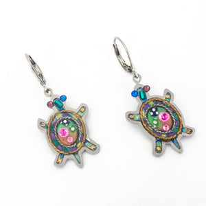 Seeka Turtle Earrings