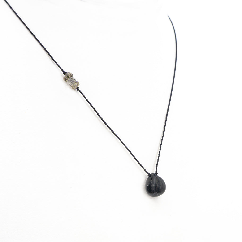 S/S Spinel W Tourmaline Necklace