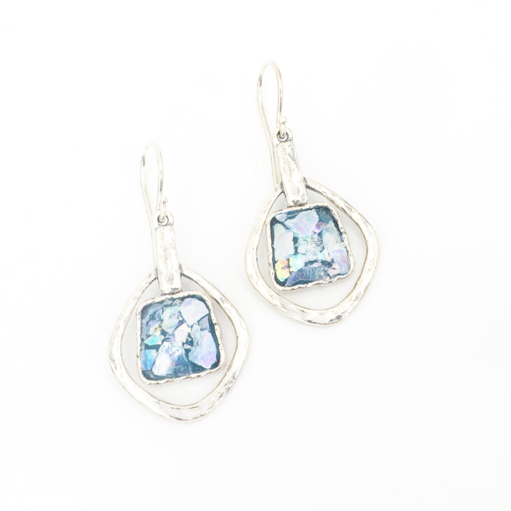 S/S Roman Glass Earrings