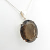 Sterling Silver Smokey Quartz Pendant