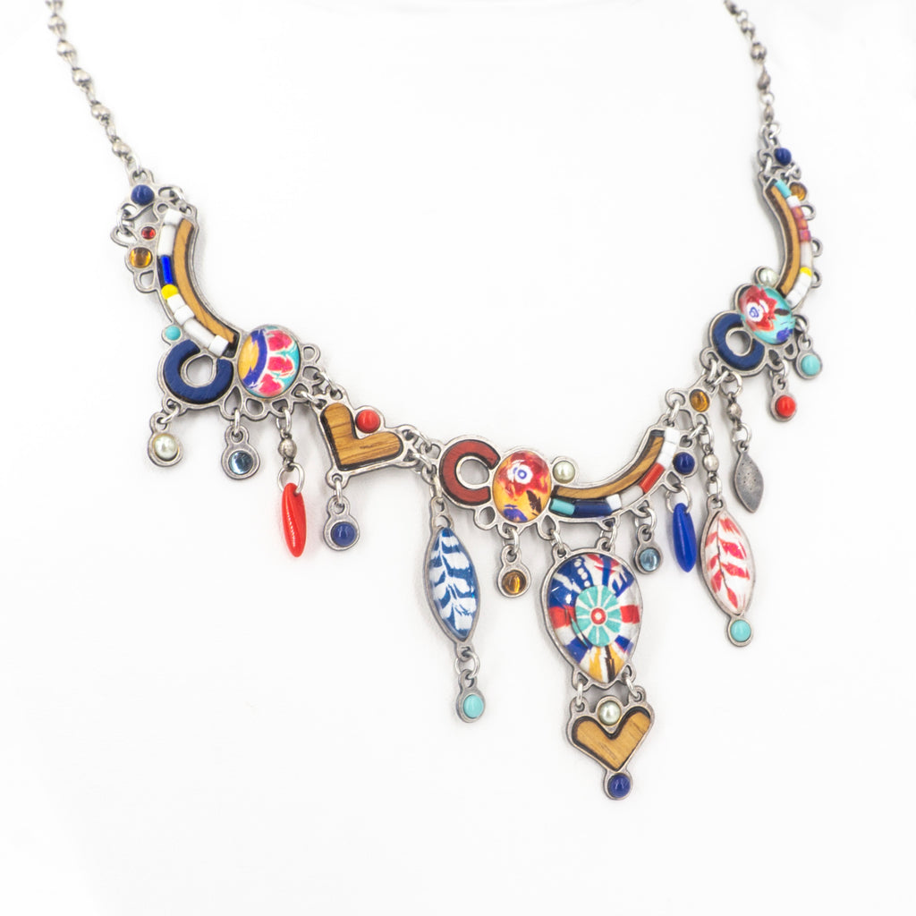 Folk Chic Color Necklace