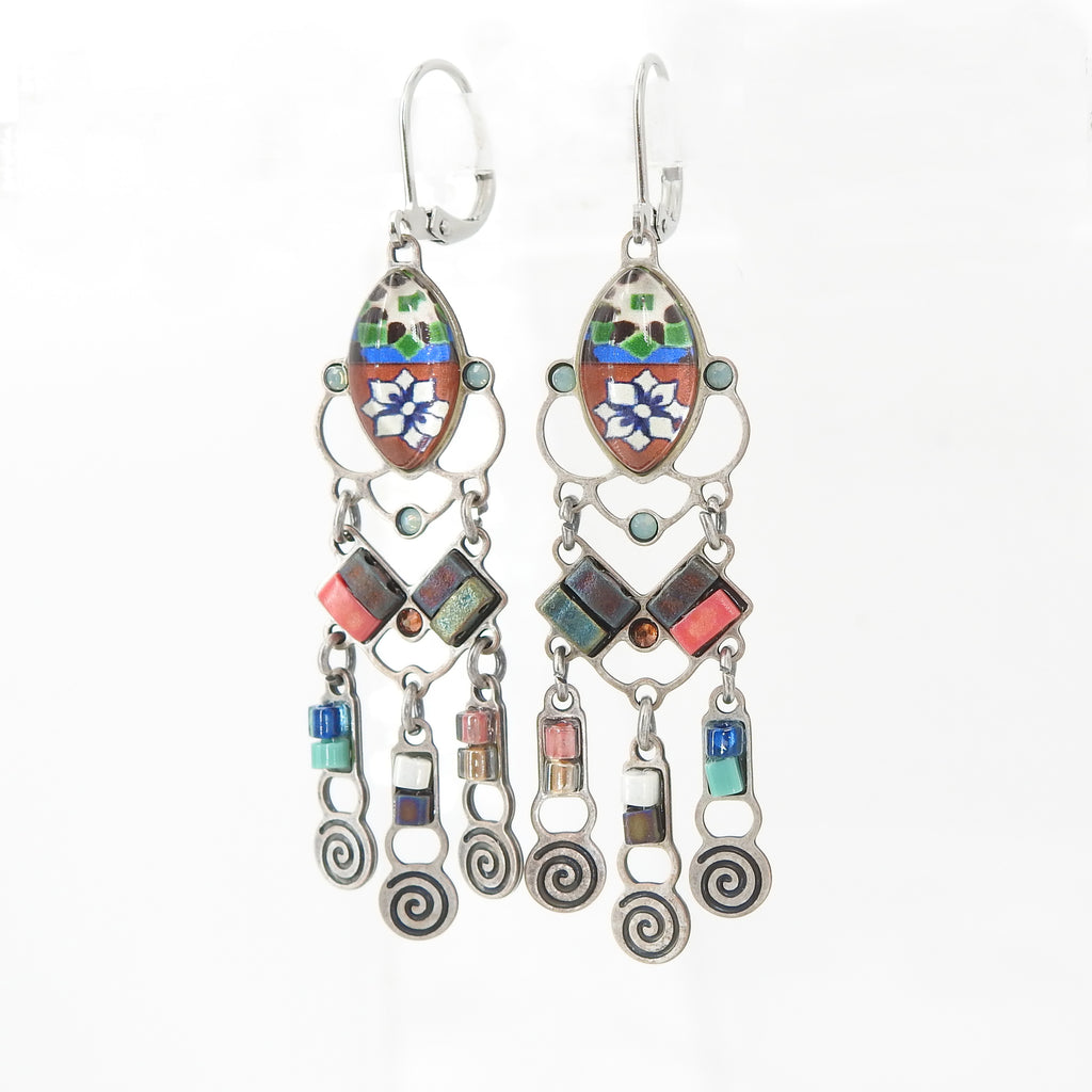 Casablanca Mixed Media Earring